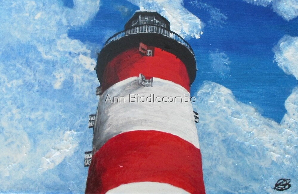 The Lighthouse by Ann Biddlecombe