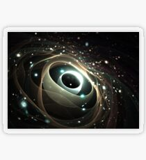Cradle of a universe Transparenter Sticker
