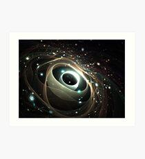 Cradle of a universe Art Print