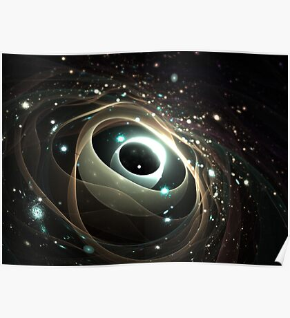 Cradle of a universe Poster