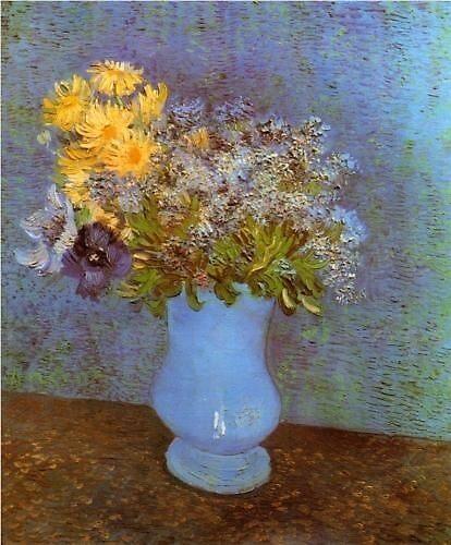 Vase of flowers by Frankmurray