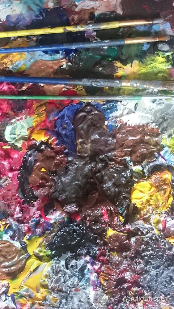 Paintbrushes by Acrylicwhisper