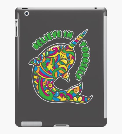 Narwhal Believes in You iPad Case/Skin
