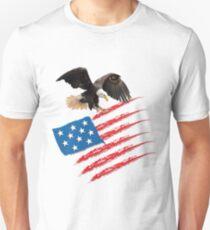 America US Flag Unisex T-Shirt