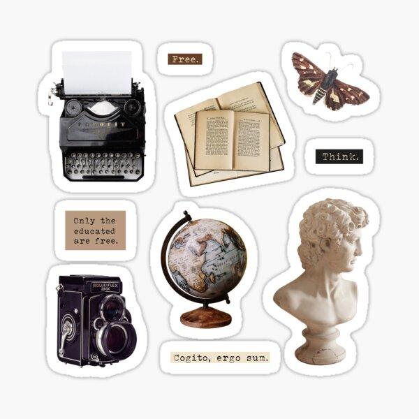 Dark academia pack Sticker