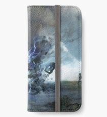 Storm on Olympus iPhone Flip-Case/Hülle/Skin