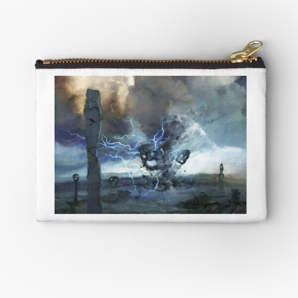 Storm on Olympus Zipper Pouch