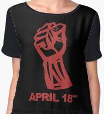 APRIL 18TH Chiffon Top