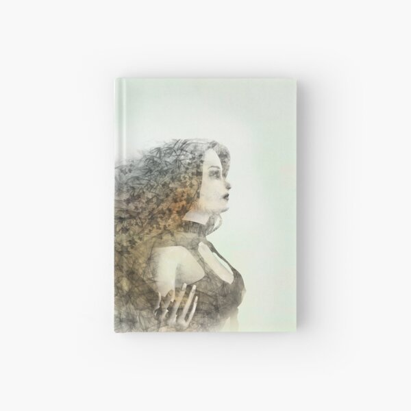 Portrait of a wildling Hardcover Journal