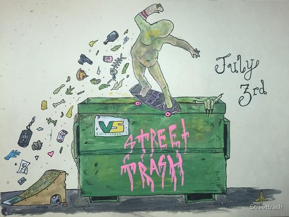 Mongo Lurko by Stuirt Jones by Streettrash