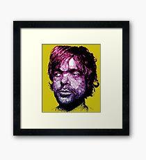 Tyrion Portrait Framed Print