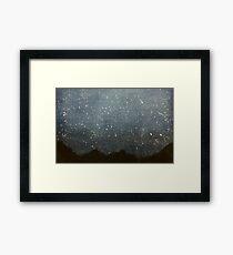 Night Sky Framed Print