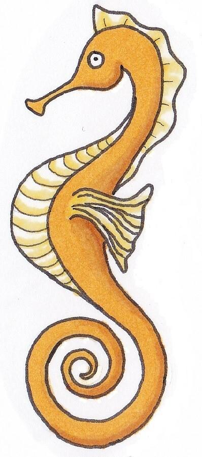 sea horse by KiboriArt