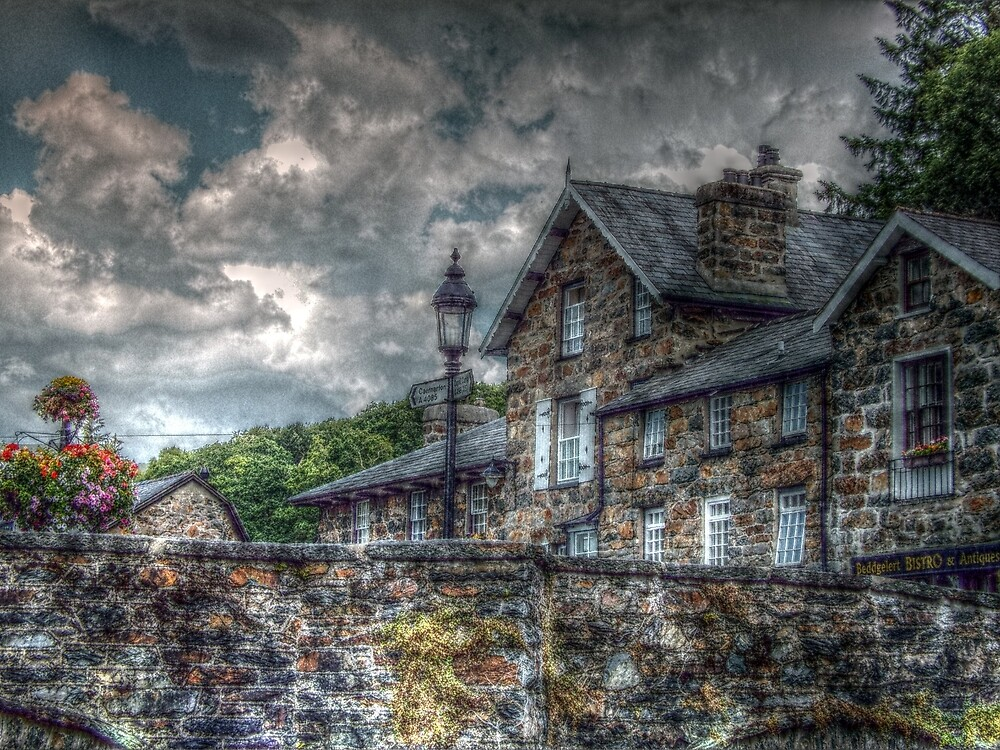 Beddgelert Bridge by BrainwaveArt