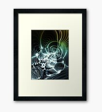 Heavy Metal Guitar Sound Framed Print