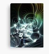 Heavy Metal Guitar Sound Canvas Print