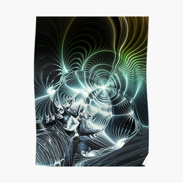 Heavy Metal Guitar Sound Poster
