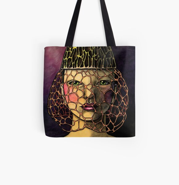 Dictyophora Indusiata All Over Print Tote Bag