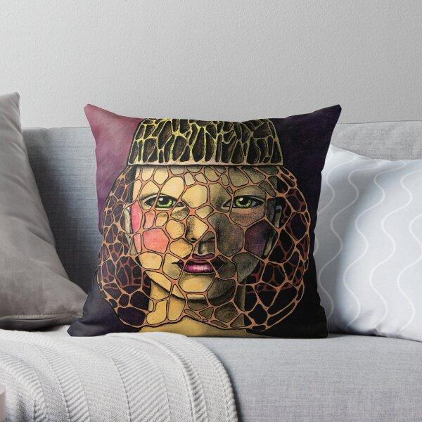 Dictyophora Indusiata Throw Pillow