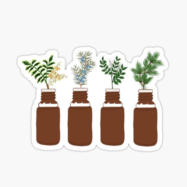 Trees in a bottle Sticker