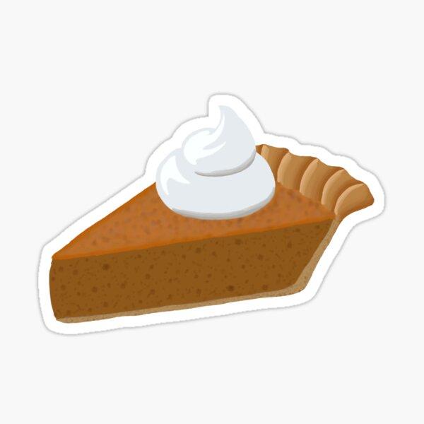 Piece of Pumpkin Pie Sticker