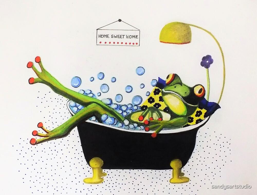 Bubble Time   (sold) by sandysartstudio