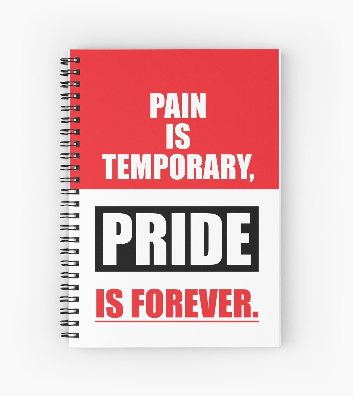 Pain Is Temporary Pride Is Forever Gym Inspirational Quotes