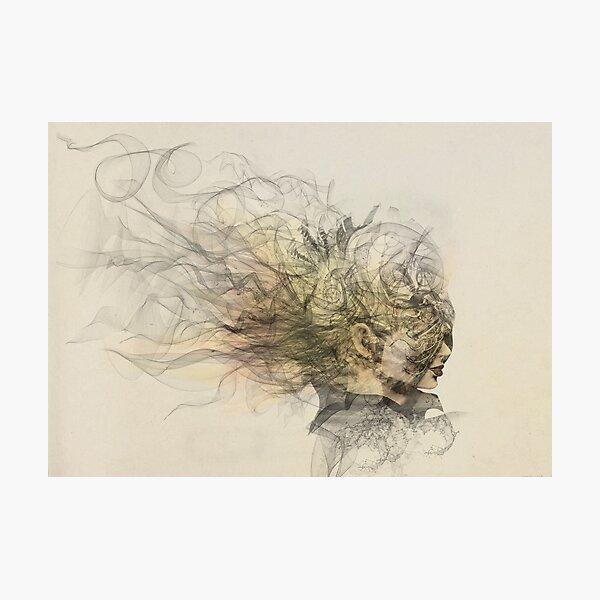 Portrait of a sorceress Photographic Print