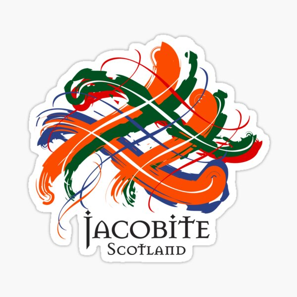 Jacobite Sticker