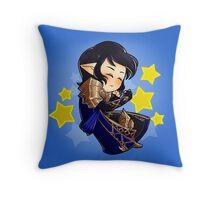 Sleeping Aymeric Throw Pillow