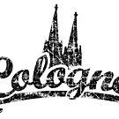 Cologne Classic Vintage Schwarz von theshirtshops