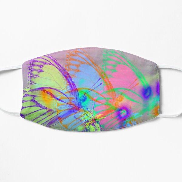 Fleeting Flutters Flat Mask