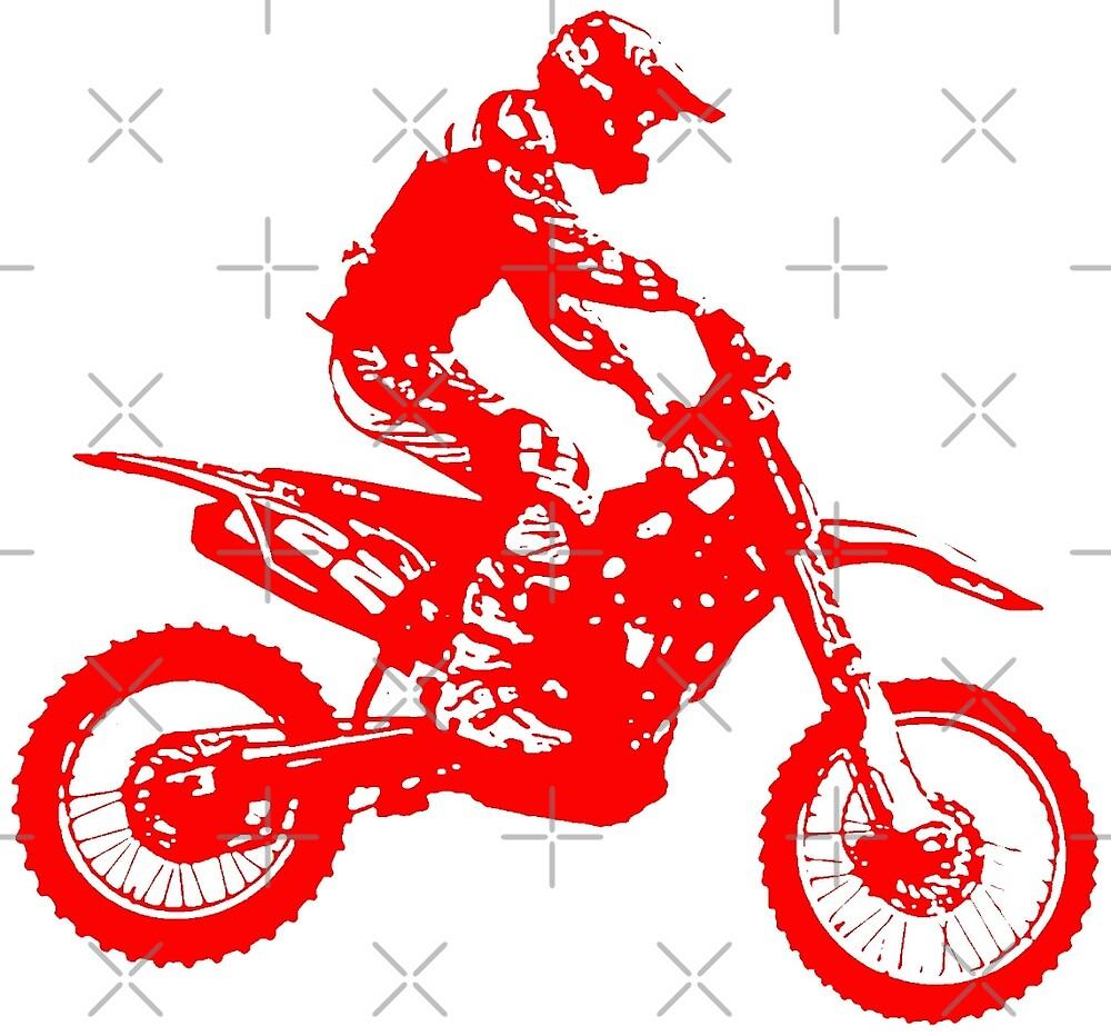 Motocross red by freaks13