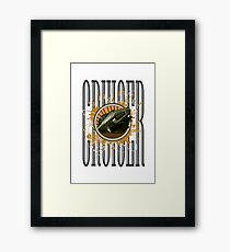 Cruiser - Cougar Framed Print