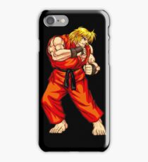 Ken - Hadoken fighter iPhone Case/Skin