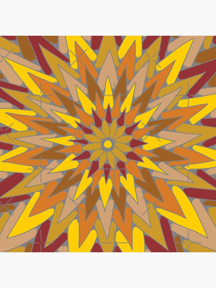 Starburst (warm colors) by dave-williams