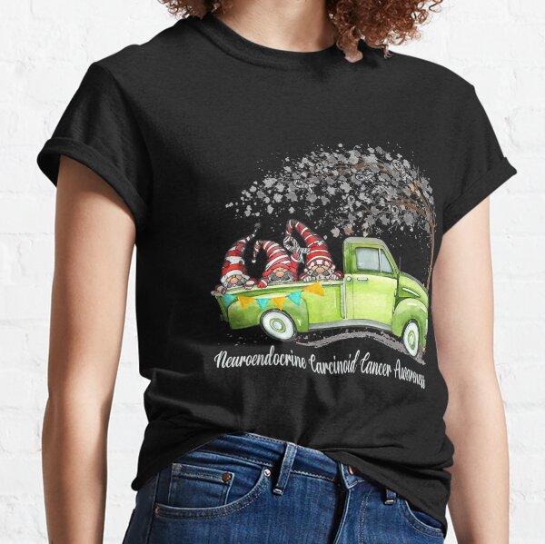 Gnomes Riding Truck Neuroendocrine Carcinoid Awareness T-Shirt Classic T-Shirt