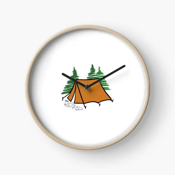 Stay Weird Camping Clock