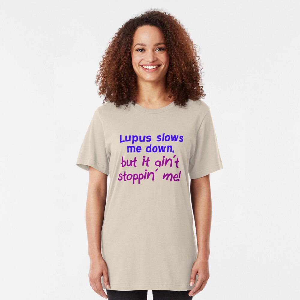 Lupus Ain't Stoppin' Me Slim Fit T-Shirt