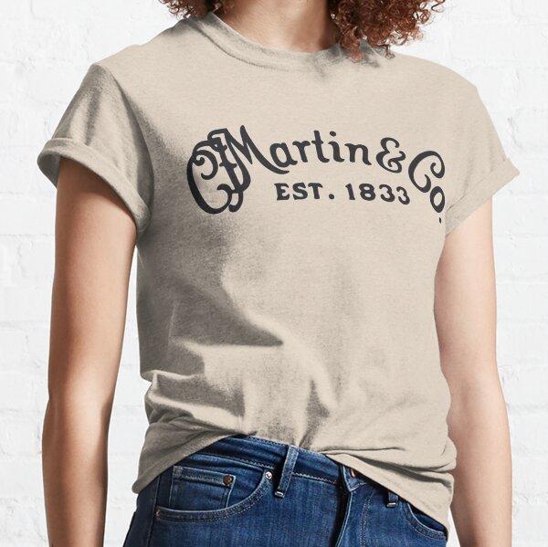 C. F. Martin Guitars Black Classic T-Shirt