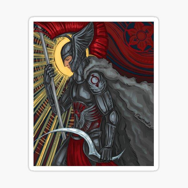 red reaper Sticker