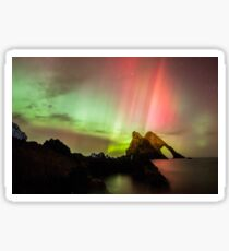 Northern Lights with Bow Fiddle Sticker
