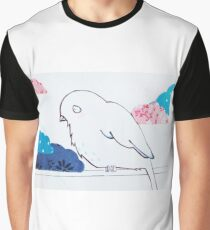 little bird in the clouds Graphic T-Shirt