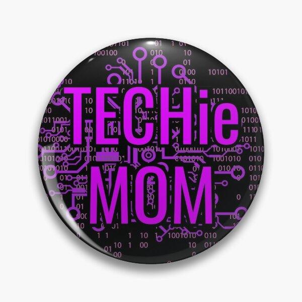 TECHie MOM Cyber Purple circuit Pin
