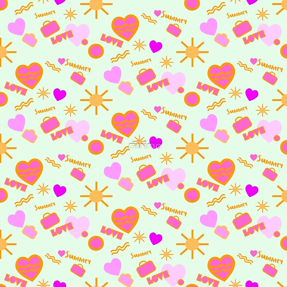 Summer Love pattern by mirimo