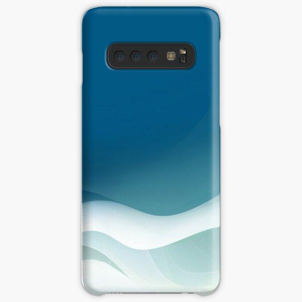 Wavy winter ice Samsung Galaxy Leichte Hülle