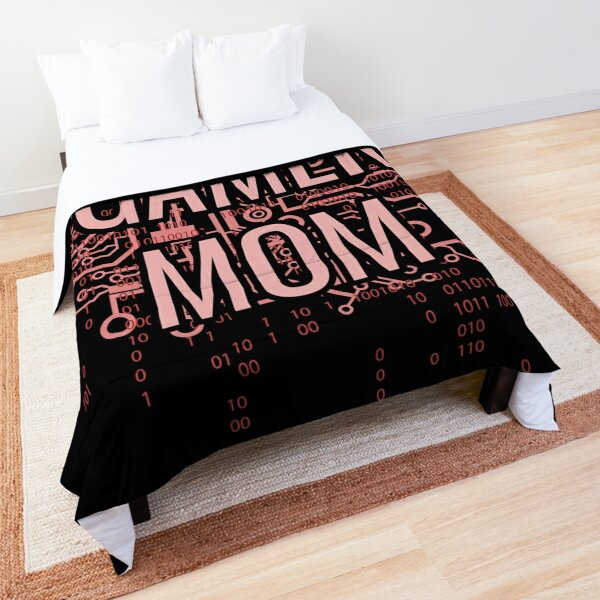 GAMER MOM Cyber Pink circuit Comforter