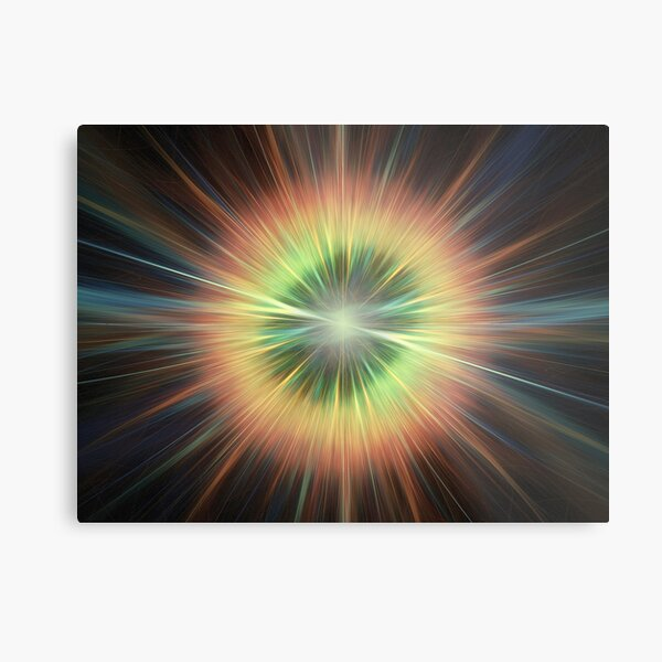 Supernova Metallbild