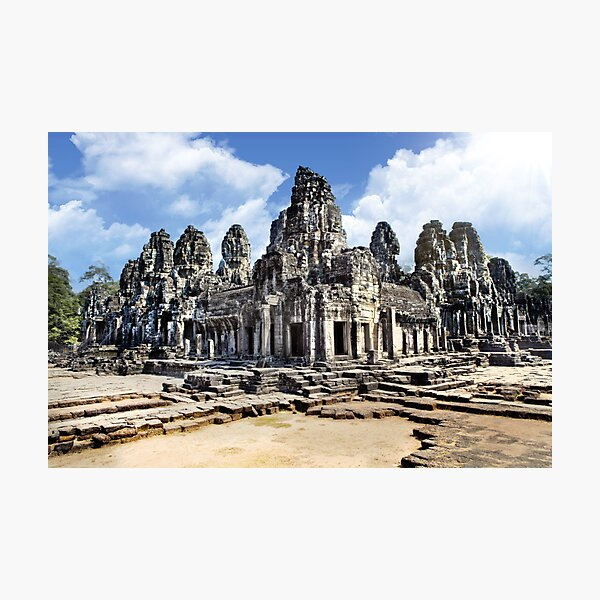 Angkor Wat Temples in Cambodia, Malaysia Photographic Print