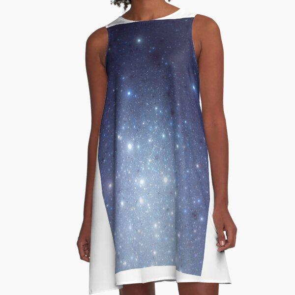 Stars freezing to standstill A-Linien Kleid